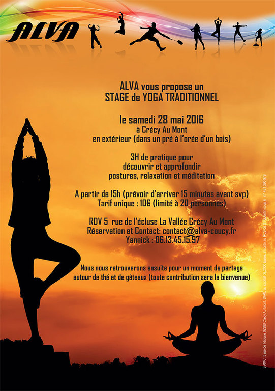 Stage de yoga traditionnel