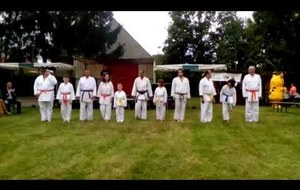 Démonstration Shito ryu karate do Guiscard septembre 2016